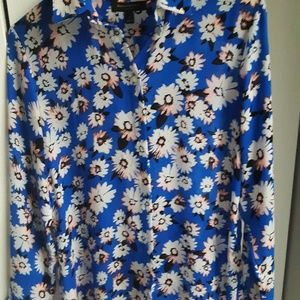 Banana Republic Dillon-fit floral shirt LIKE NEW